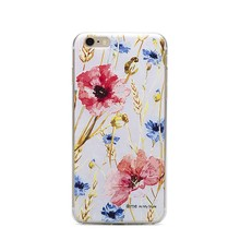 "Floral 5.5"" TPU cellphone case for iphone 6 plusvcase 3D print Customized cellphone case"