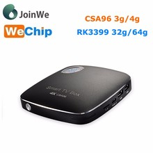 4GB RAM 32GB ROM rk3399 android tv box android 6.0 CSA96 TV BOX