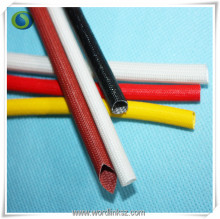Best quality insulating silicone rubber fiberglass sleeving