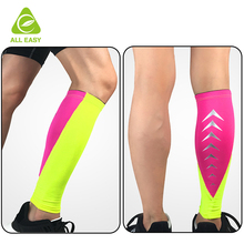 Protective Reflective Stripe Polyester Calf Support