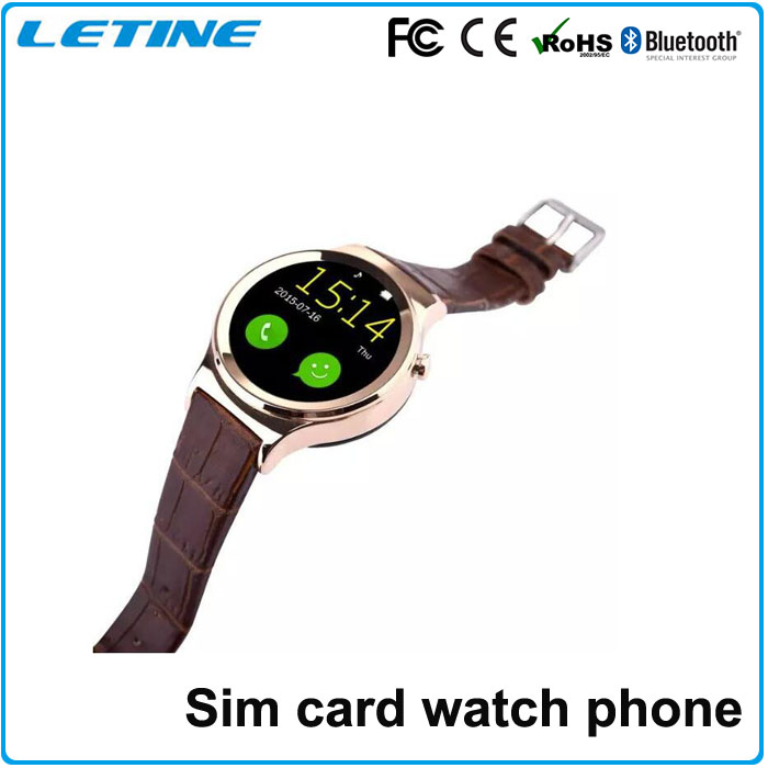 First New round smart watch with sim card T3 for mobile phone,cheap android smart watch phone bluetooth smart watch