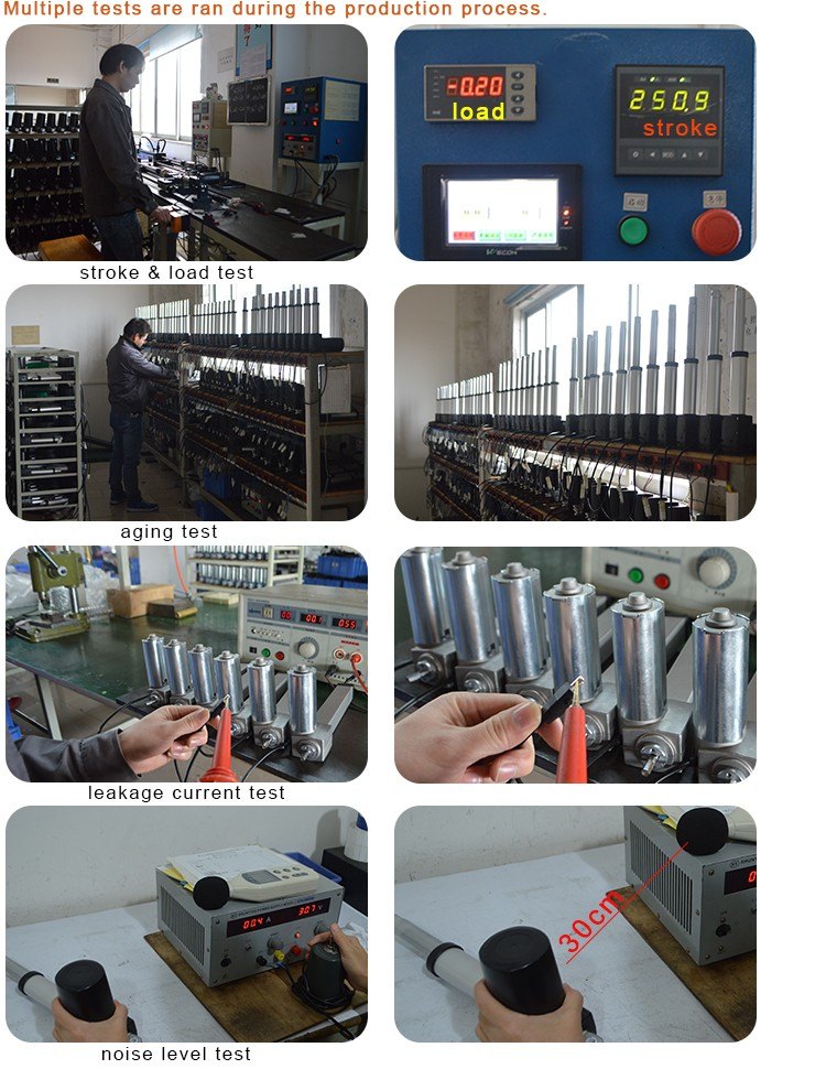 Safe Electric Linear Actuator For Medical Equipment With High Popularity