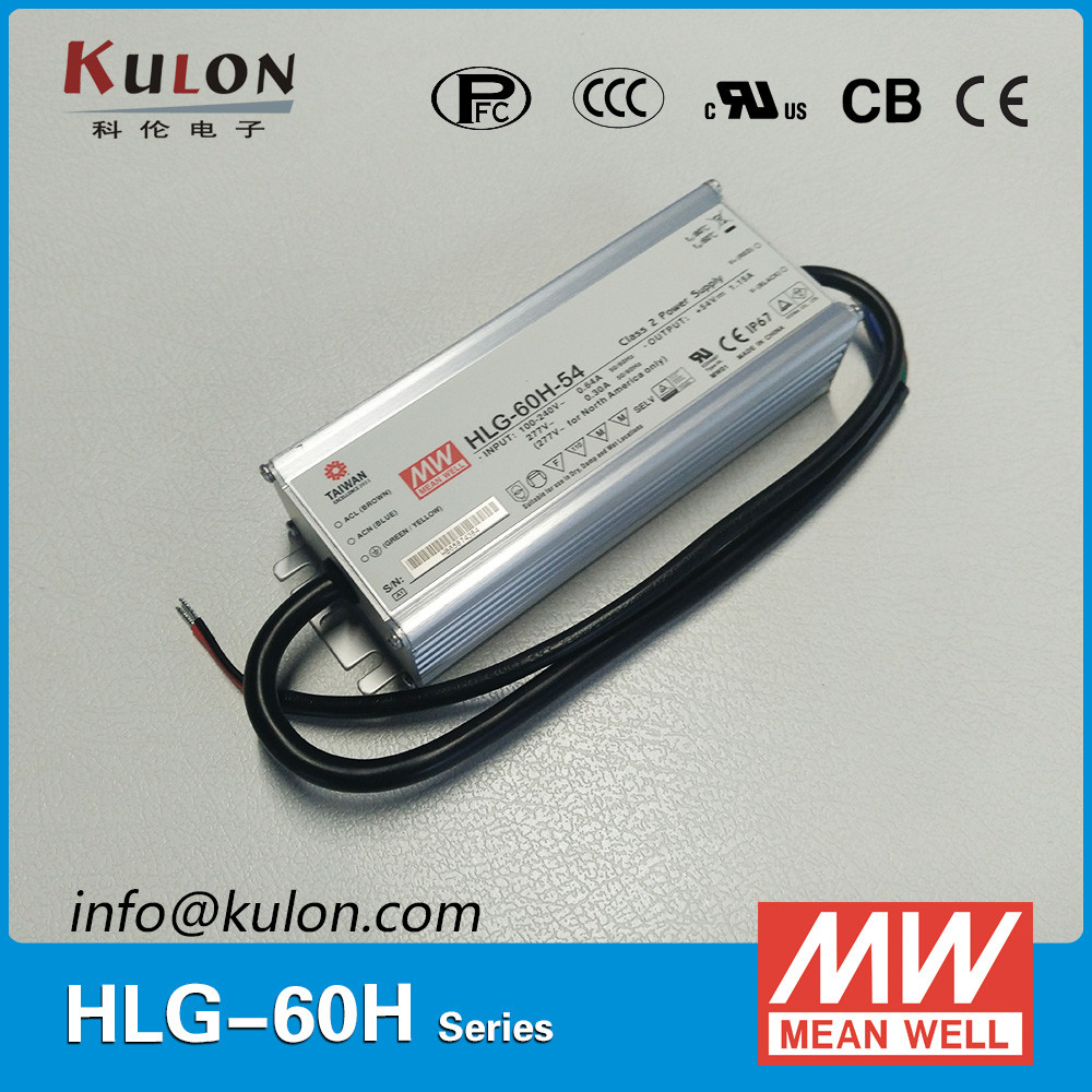 Meanwell HLG-60H-42 60w 42v led driver manufacturers constant voltage