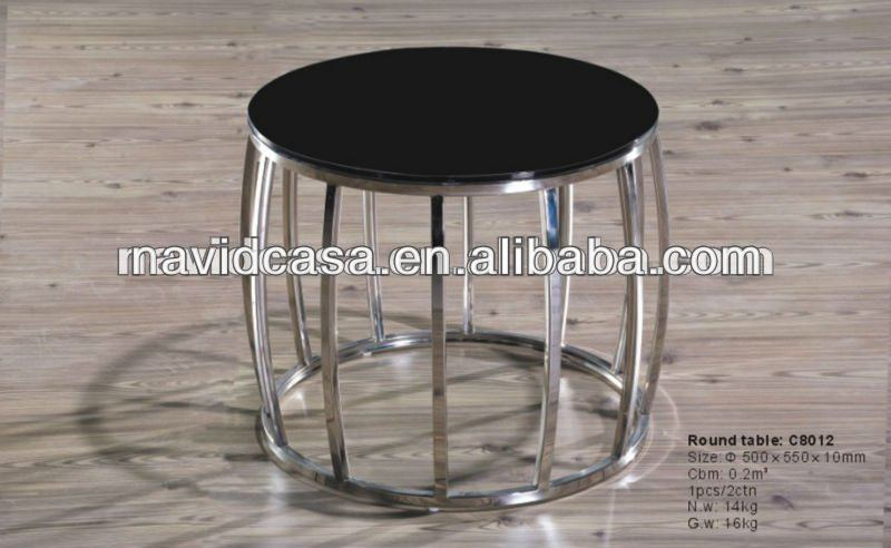 modern cheap round german coffee tables