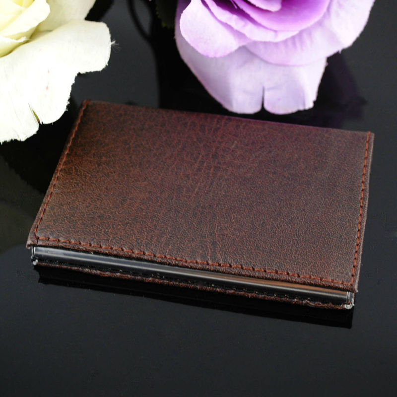 2015 New Design Leather Business Card Holder For Wholesale