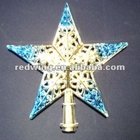 2012 Fancy Christmas Tree Topper Star Decoration