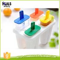 Creative DIY with cover ice plastic ice cream mould