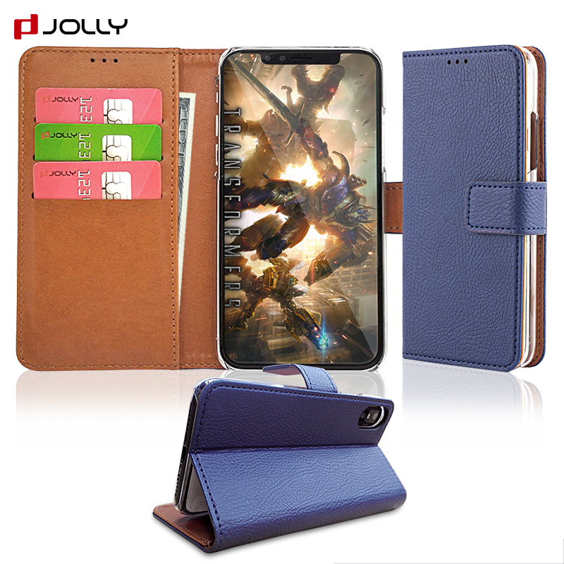 2018 Trending Products Flip Leather Phone Cover Case For <strong>iPhone</strong> X