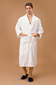 100% cotton bathrobe