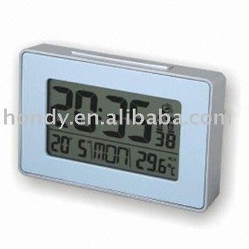 Novelty Radio-controlled LCD Clock
