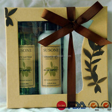 OEM with high quality wholesale whitening skin body wash boxed bath towels sets