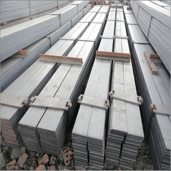 hot dip galvanized Steel Flat Bar with grade DX51D for construction material
