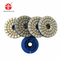 "JS 5"" Diamond Resin Edge Chamfering wheels 4 Steps"