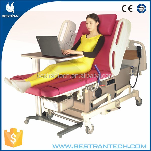 BT-LD001 Luxury electric motorized LDR medical bed hospital