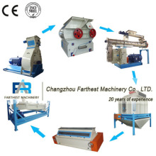 Ring Die Animal Feed Pellet Production Line