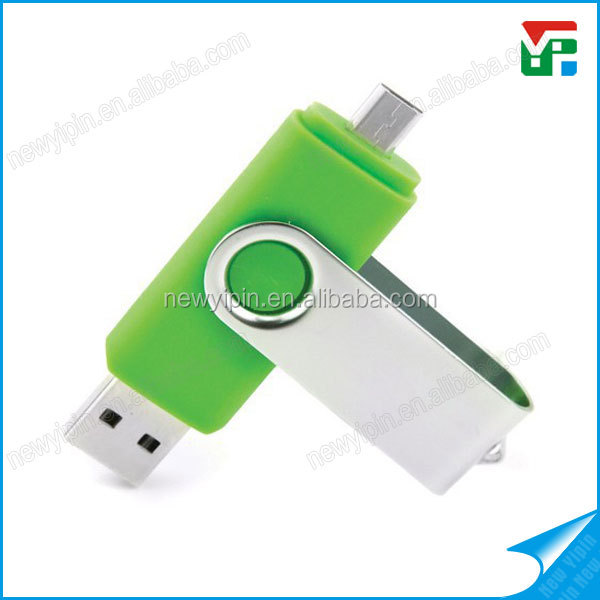 Factory price swivel Pen drive usb 2.0/3.0 100% full capacity otg usb flash drive