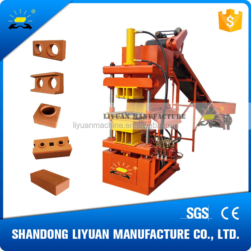 LY2-10 fully automatic clay bricks making machine