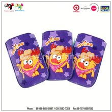 Ladies fashion cartoon characters leather phone bags/pouches