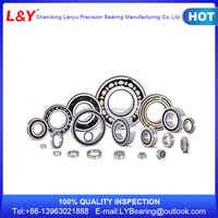 China High Quality Single and Double Row Angular Contact Ball Bearing for Machine Shaft/oil pumps