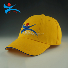 special 6 panel baseball cap with 3D embroidery