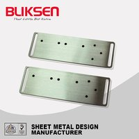 High precision brushed nickel sheet metal products