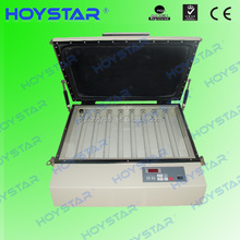 tabletop uv exposure unit for pad printing polymer plate