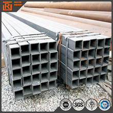 ASTM a500 construction hollow sections, 38x38 square steel tube, welded rectangular hollow tube rhs