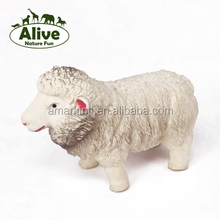 Stretch Sheep TPR plastic white sheep animals squishy OEM OBM factory promotion soft toys for kids