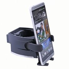 universal car cup holder JH35 plastic sport bottle for mobile phone