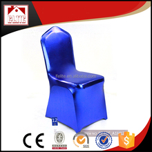 Wholesale heated novelty navy blue banquet chair covers