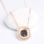 High quality 18k gold jewelry silver necklace for women