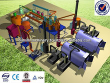 Manufacturers of waste tyre pyrolysis plant waste oil recycling oil machine made in india