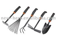 different kinds of gardening hand tools