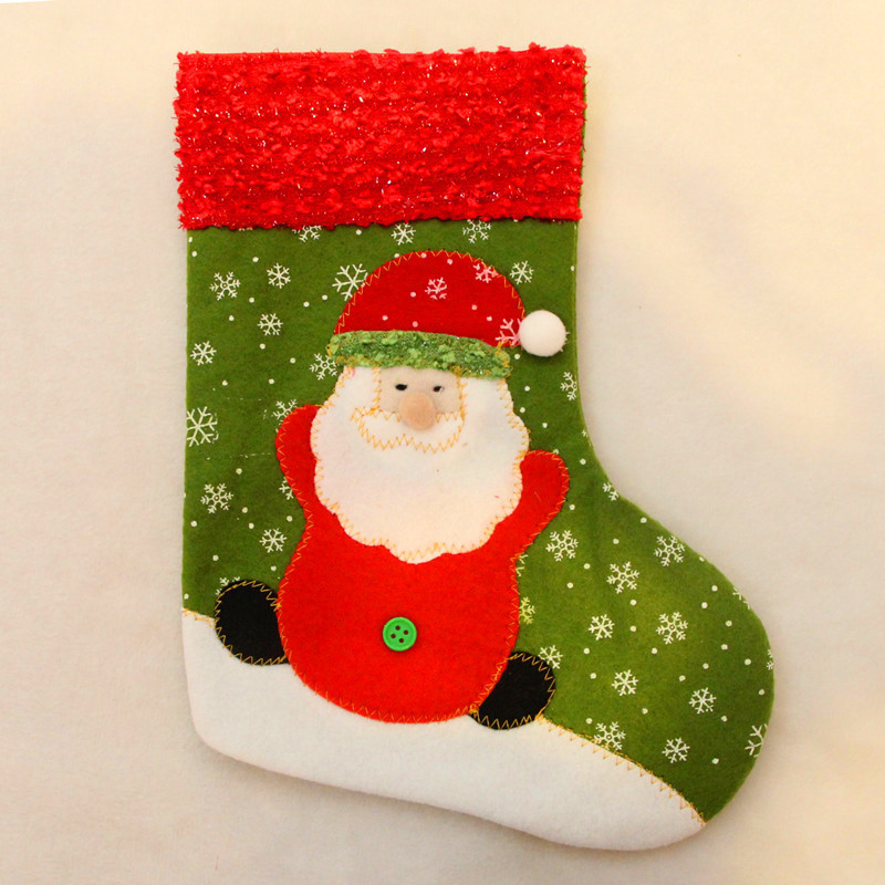 New Christmas Tree Decorations Santa Claus Snowman Christmas Stockings Christmas Decorations