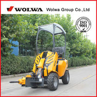China 1.5ton GN200 wheeled loader lowest price good performance briggs and stratton engine