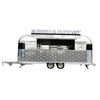hot sales best quality crepe trailer motorcycle food trailer fiber glass food trailer
