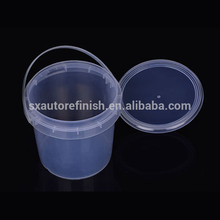 Bright hyaline Plastic Bucket with Handle 250l plastic oil drum