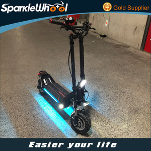 Newest Wolf Warrior 2400W 60V Double Frame Off Road Dualtron Easy Rider Waterproof Electric Scooter Dual Motor