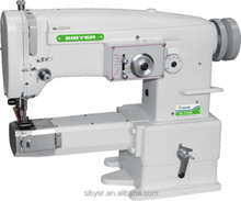 easy operate heavy duty zigzag stitching industrial sewing machine