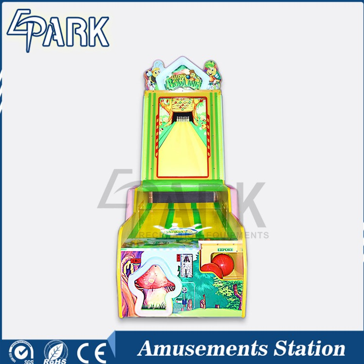 Electric Bowling Simulation Amusement Game Machine