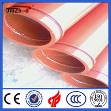 wear resisting concrete pump pipe in F/M end flange and concrete spare parts