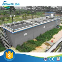 Energy-saving China Water Purification Plant of Highly Poisonous, Organics and Dye Wastewater