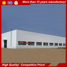 Hot galvanized prefabricated steel structure warehouse with best price