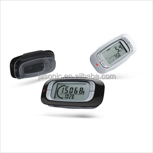 """AERO"" 3D Sensor Multi Function Pedometer with Memory"