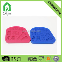 3D baby toys Silicone fondant mold candy mold for cake decoration