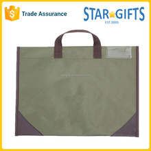 Light Weight Simple Conference Document Bag for Travel and Meeting