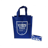 100% recycle wholesale alibaba china non-woven foldable shopping bag
