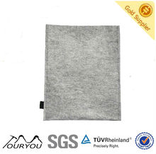 Hot! 2013 fashion hotsale felt cover for iPad case (TAG130605grey)