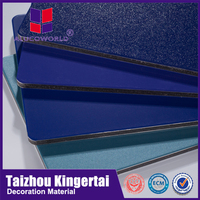Alucoworld unbroken core fire rated aluminum composite panel plastic building material outdoor