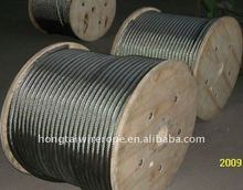Stainless Steel Wire Rope 7x19 for Lifting, Rigging, Sailing Yacht Mast,Architectural System